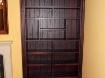 Book Shelving Stained Oak