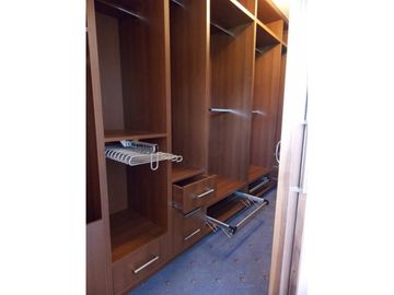 Walk In Wardrobe Bedroom Walnut