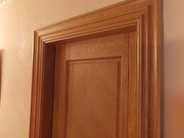 Solid Door Frames Doors Architrave Skirting Board In Oak