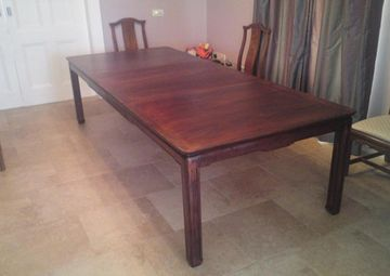 Restored Table Mahogany (b)