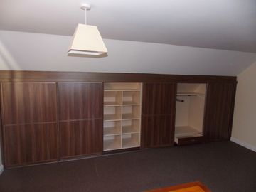 Sliding Wardrobes Walnut