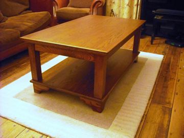 Coffee Table Antique Oak