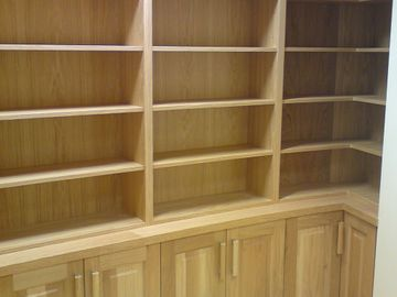 Shop Fit Out Oak