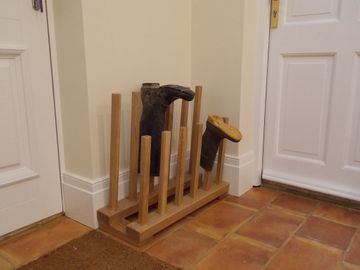 Timber Boot Rack Oak
